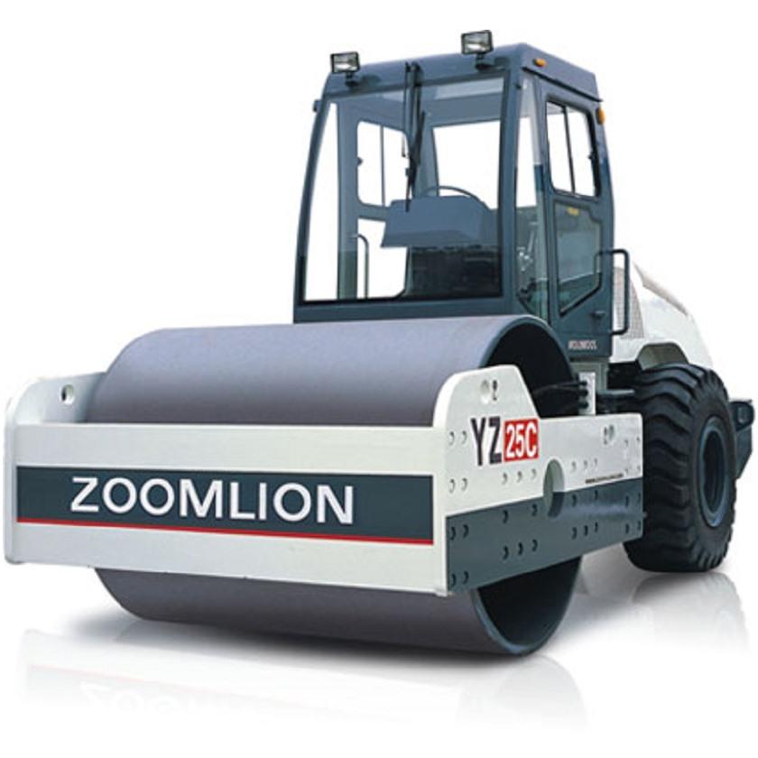 zoomlion/中联重科yz25c压路机,单钢轮压路机         全液压,全轮图片